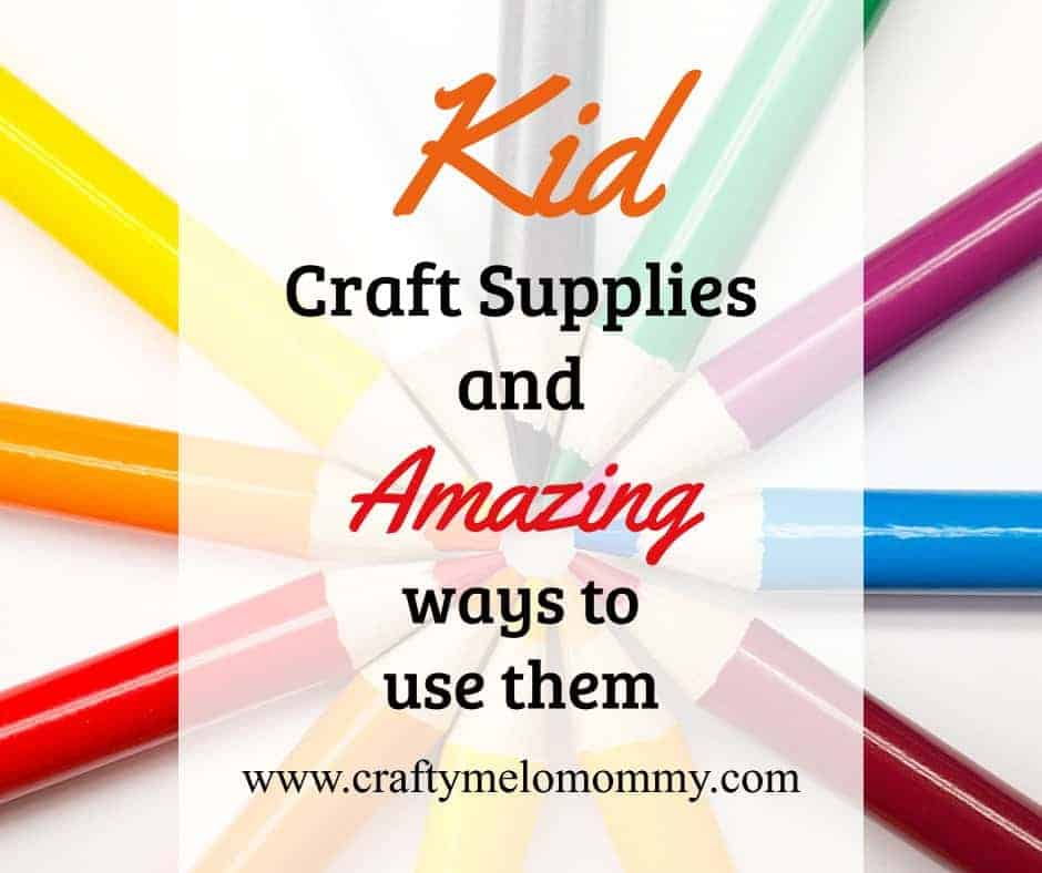 Kid Craft Supplies and uses