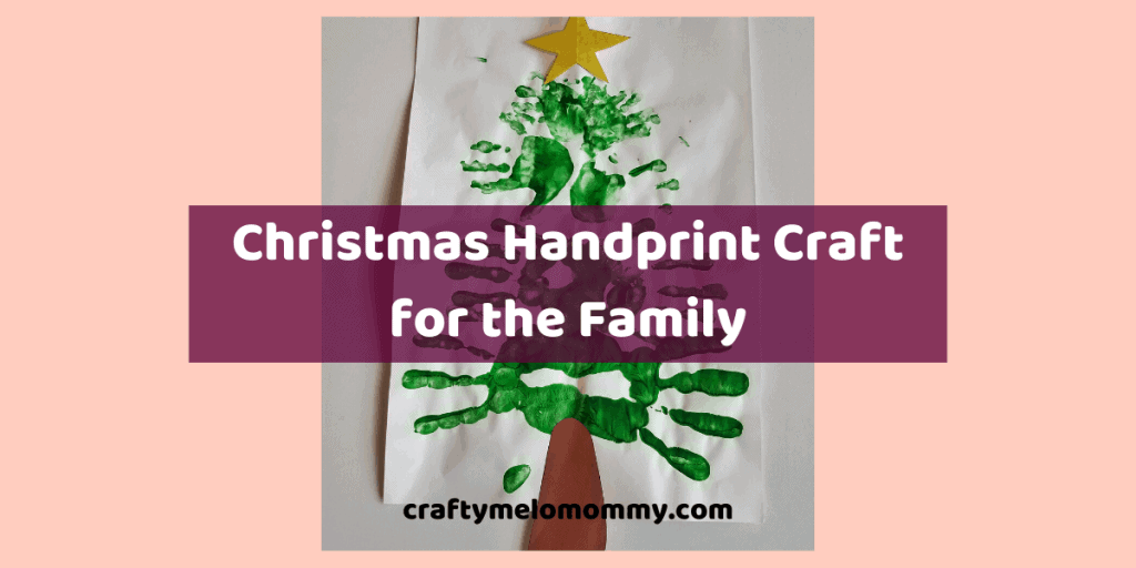 Do you want a fun DIY Christmas craft your whole family can do together? Take a look at this cute Christmas tree made with handprints! Use as a homemade DIY decoration for your home this Christmas season. This super cute idea is made using paint and your family's handprints. You can even let the baby join in on the fun! This idea would also be amazing as canvas art for the holiday season. Families can make a new Christmas tree craft each year to see how the tree changes from year to year