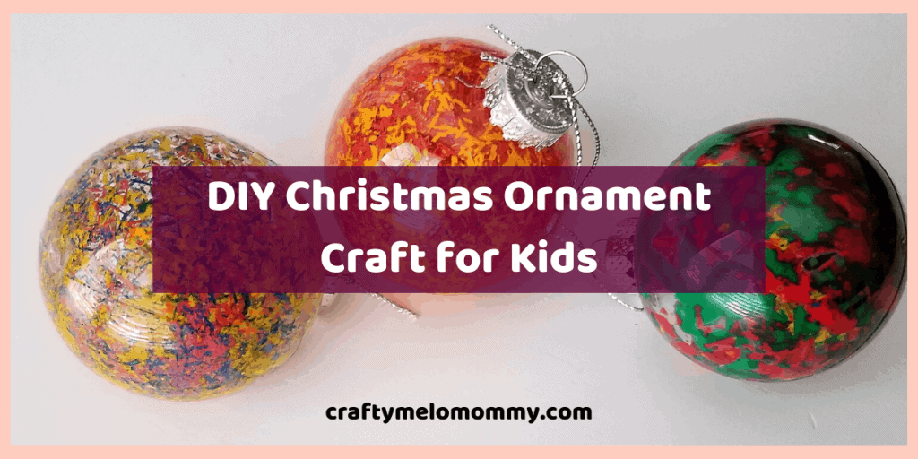 Do you and your kids want to make a handmade Christmas gift? Try this DIY Christmas ornament. This is a great Christmas arts and crafts project for families to do together. This Christmas ornament is easy for kids to make using only a few supplies. It also helps with fine motor skills and listening to directions. All the supplies are inexpensive and easy to find. There is little to no prep work involved for you! #ChristmasOrnamentforKids #EasyDIYChristmasforKids #EasyHandmadeChristmasGift