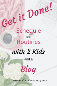 How I work from home with 2 kids and GET IT DONE! Includes my nighttime routine and schedule.