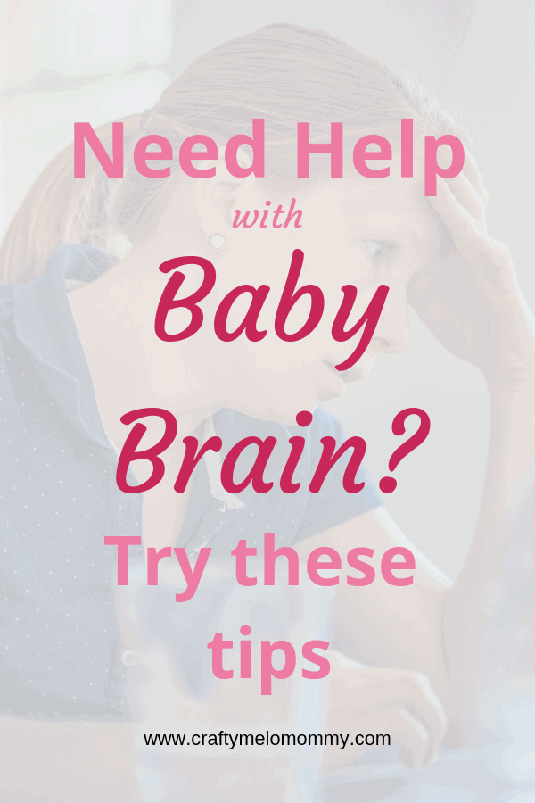 Pregnancy brain, baby brain, mommy brain…the struggle is REAL! Try these tips! #mommylife #mommybrain #thestruggleisreal