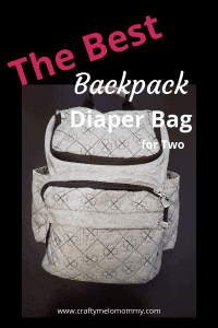 Simple features that make a big difference in a diaper bag. #bestdiaperbag #stylishdiaperbag