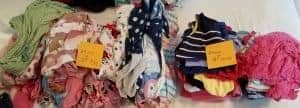 PJs and shirts