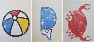 Toddler summer craft