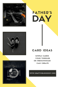 Create two sweet cards for a Happy Father's Day. Free printable includes a Superhero template card and a Dancing on Daddy's select card.