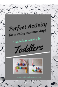Toddler bouncing off the walls on a rainy day? Make an indoor fishing activity in no time! BONUS! Recuse your Easter eggs.