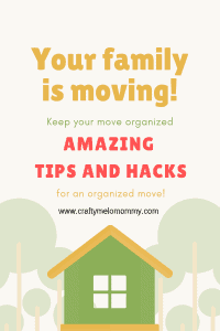Try these great moving tips and hacks stay organized and pack and move all of your belongings. These tips are great for when you have a toddler running around and you are pregnant.