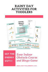 Amazing toddler activities to do at home.  Easy to set up!  Great for a fast indoor activity.