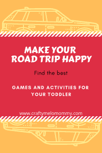 Keep the drama llama away during long car rides with these fun activities and games for your toddler.