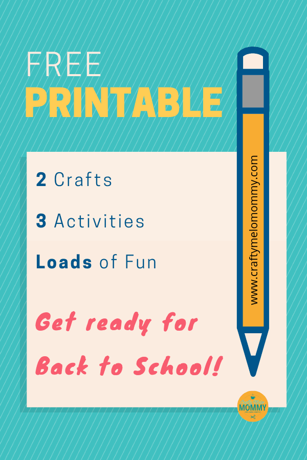 Download your free printable back to school fun pack today!