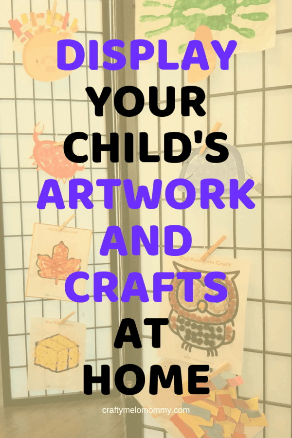 Displaying and storing your kids' artwork doesn't need to be hard. Here are a few different ways to display your child's artwork using walls, shelves, signs, frames, corkboard, and Ikea ideas. Also included are 3 different ways to store and preserve your child's artwork for years to come. Keep your kids' artwork safe and viewable to grow your child's confidence and create a strong foundation. #kidsartwork #kidsartworkdisplayideas #kidsartworkdisplayonwall #uniquekidsartworkdisplayideas