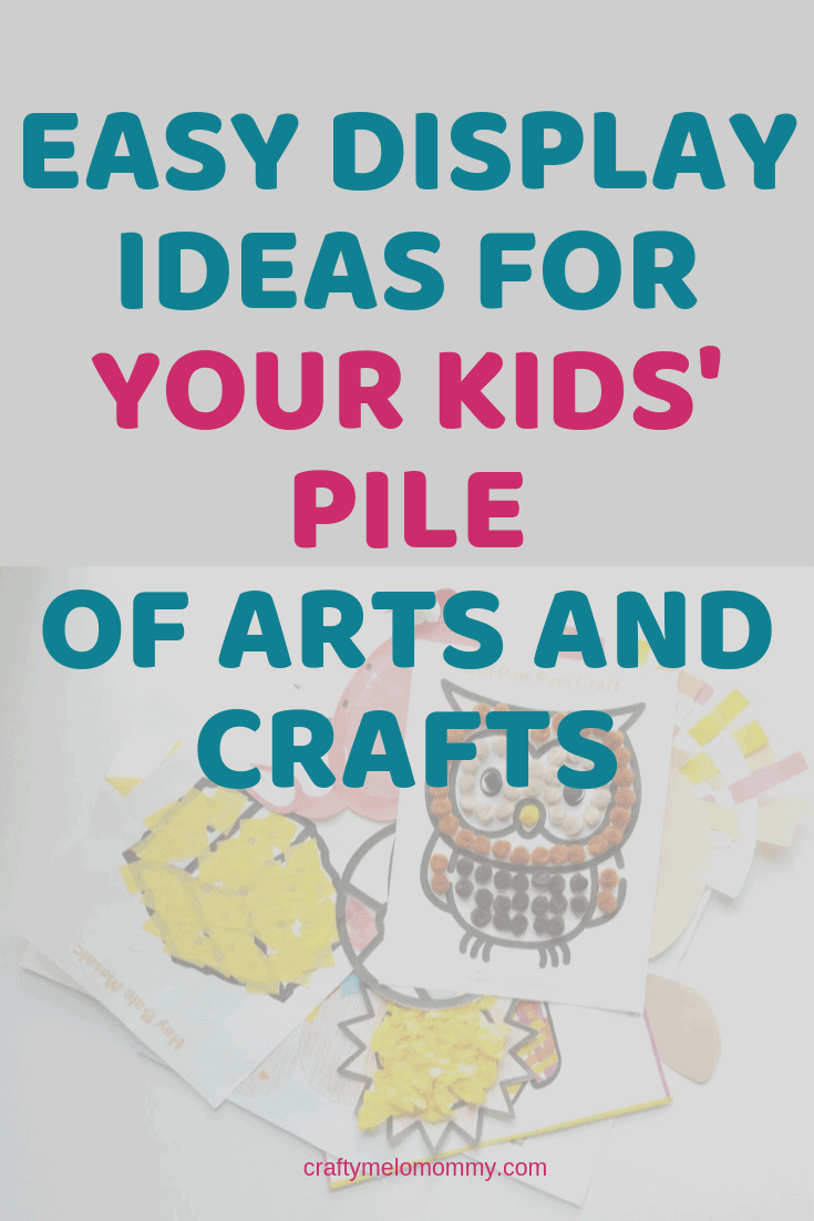 Fun kids artwork display ideas. Great ways to display and store your kids' artwork on the wall, in the hallways, in your kitchen, or in your playroom. Ideas to store the amazing artwork your child has created and enjoyed it for years to come. Keep your kids' artwork safe and viewable to grow your child's confidence and create a strong foundation. #kidsartwork #kidsartworkdisplayideas #kidsartworkdisplayonwall #uniquekidsartworkdisplayideas