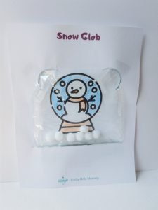No glass snow globe for kids