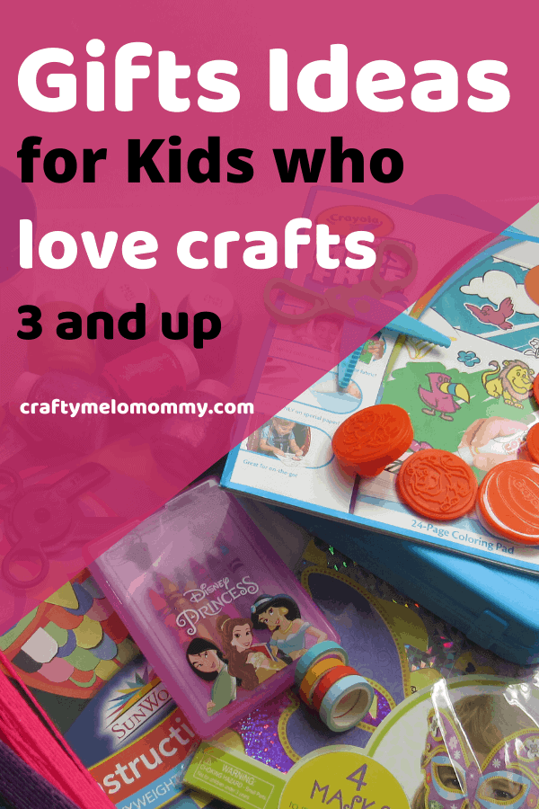 Are you looking for some perfect gift ideas for the young crafty kid in your life? This is a list of over 30 different items all for children 3 years and up. The gift ideas on this list are perfect for any gift budget. All of these ideas are sure to make the crafty kids in your life happy and keep them entertained! Best of all, it isn't just another toy. #kidgiftideas #artsandcraftgiftsforkids #kidscraftgifts
