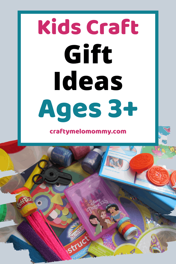 Looking for gifts for crafty kids? This list has over 30 different ideas of gifts you can get the crafty kids on your list. All the gifts on this list are made for children 3-years-old and up. Finding a gift should be no problem with each of the 4 categories based on what your child likes to do the most! All of these ideas are sure to make the crafty kids in your life happy and keep them entertained! Best of all, it isn't just another toy. #kidgiftideas #artsandcraftgiftsforkids #kidscraftgifts