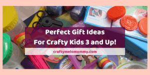 If you are looking for some fun gift ideas for a crafty kid, here are over 30 different ideas for you! All of these ideas are perfect for toddlers 3-years-old and up! This list covers kids who like different kinds of crafts as well as different budgets! Don't just buy another toy, get a craft and let your child express themselves in a fun and creative way! All of these ideas are sure to make any child happy and keep them entertained! #GiftsforCraftyKids #KidsCraftGifts #CraftyGiftsforKids