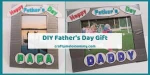 make a Fathers Day Present from kids
