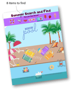Pool Party Search and Find