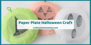 Paper Plate Halloween Craft