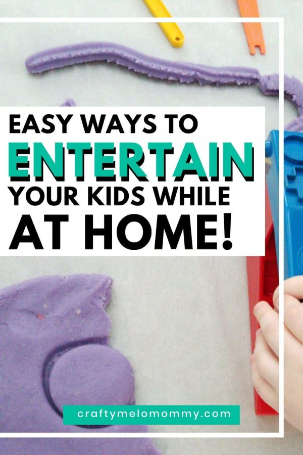 Looking for some fun and easy activities to do while you are stuck at home? Here is a list of 10 activities your kids will enjoy. These simple quarantine activities will help you keep your kids from being bored. You might even like a few of them or it might help to give you at least a ten-minute break!