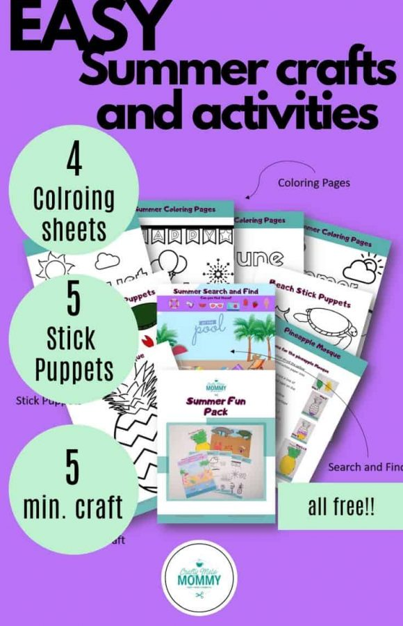 toddler arts and crafts summer
